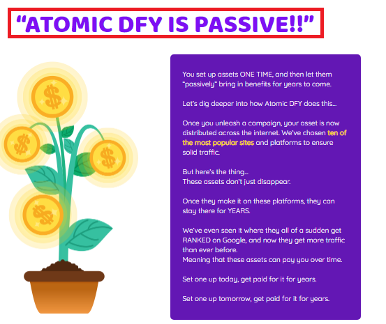 Atomic DFY Review