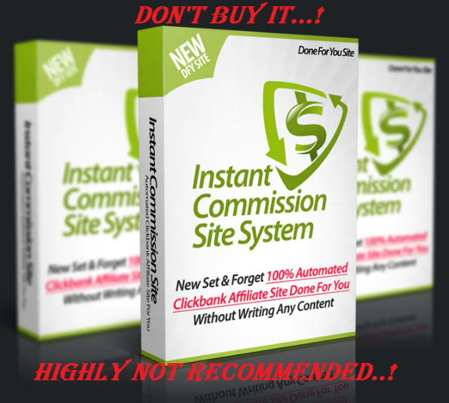 Instant Commission Site Review