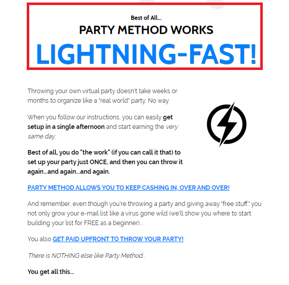 Party Method Review