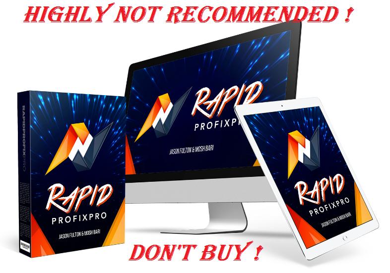 RapidProfiXpro Review