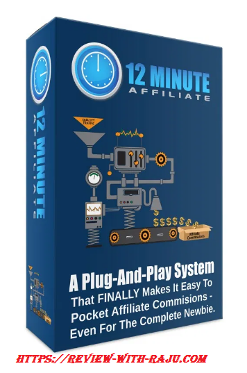 Used  Affiliate Marketing 12 Minute Affiliate System Under 100