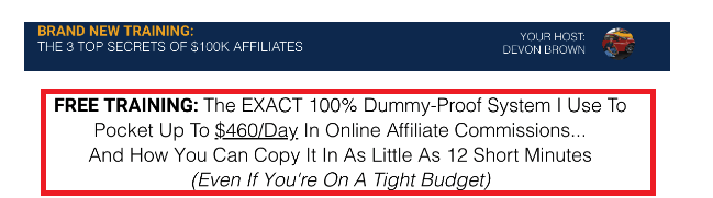 12 Minute Affiliate System  Outlet Deals
