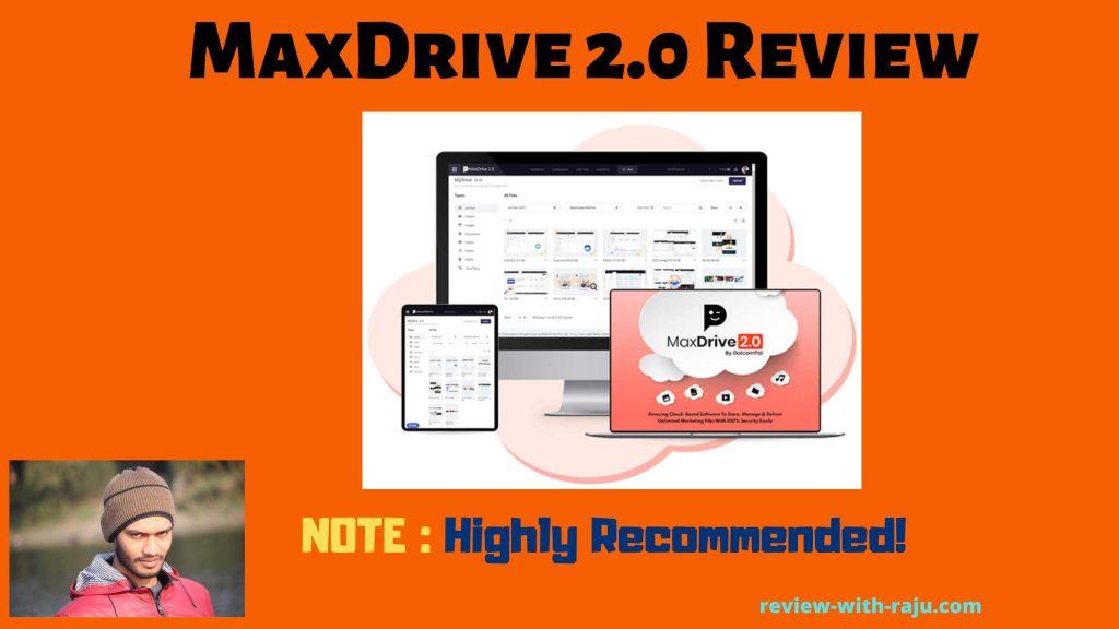 MaxDrive 2.0 Review