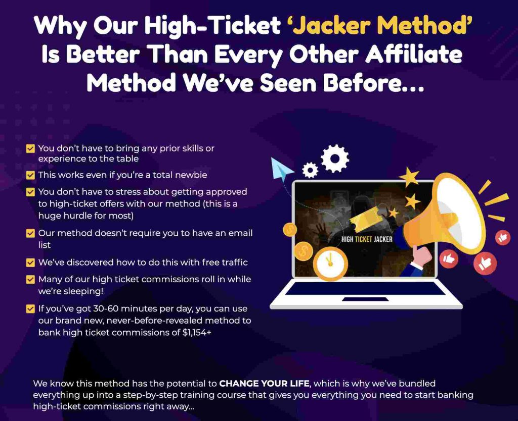 High Ticket Jacker Review