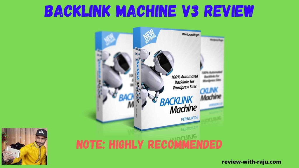 Backlink Machine v3 Review