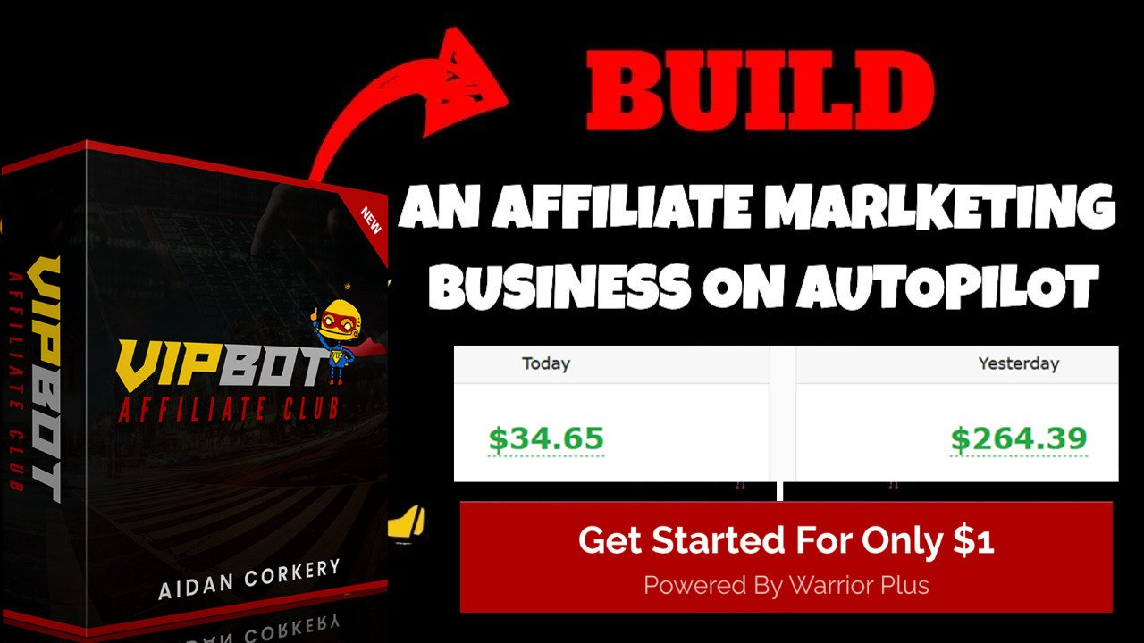 BUILD AN AFFILIATE MARKETING ON AUTOPILOT
