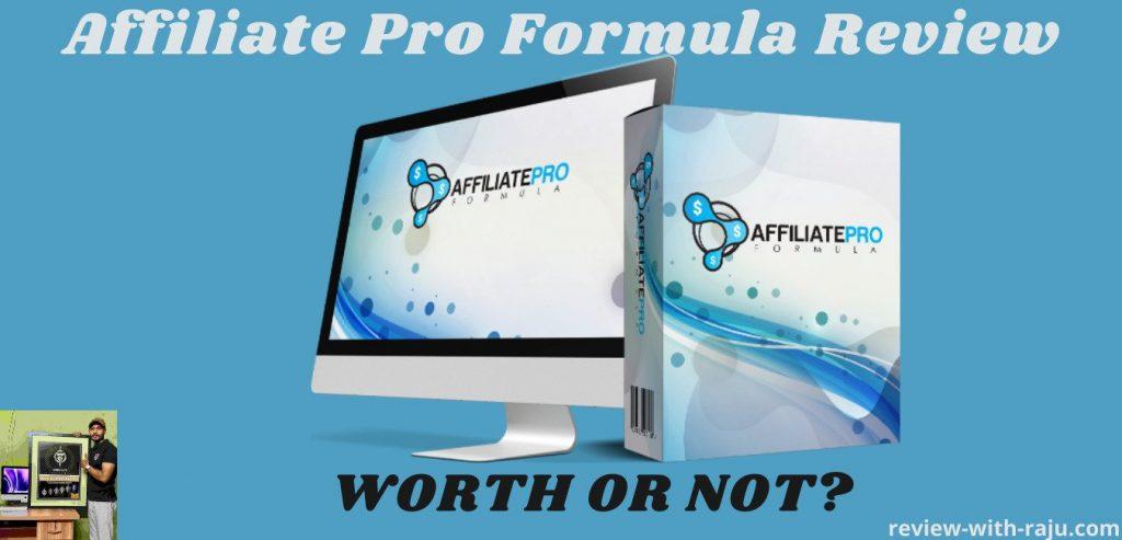 Affiliate Pro Formula