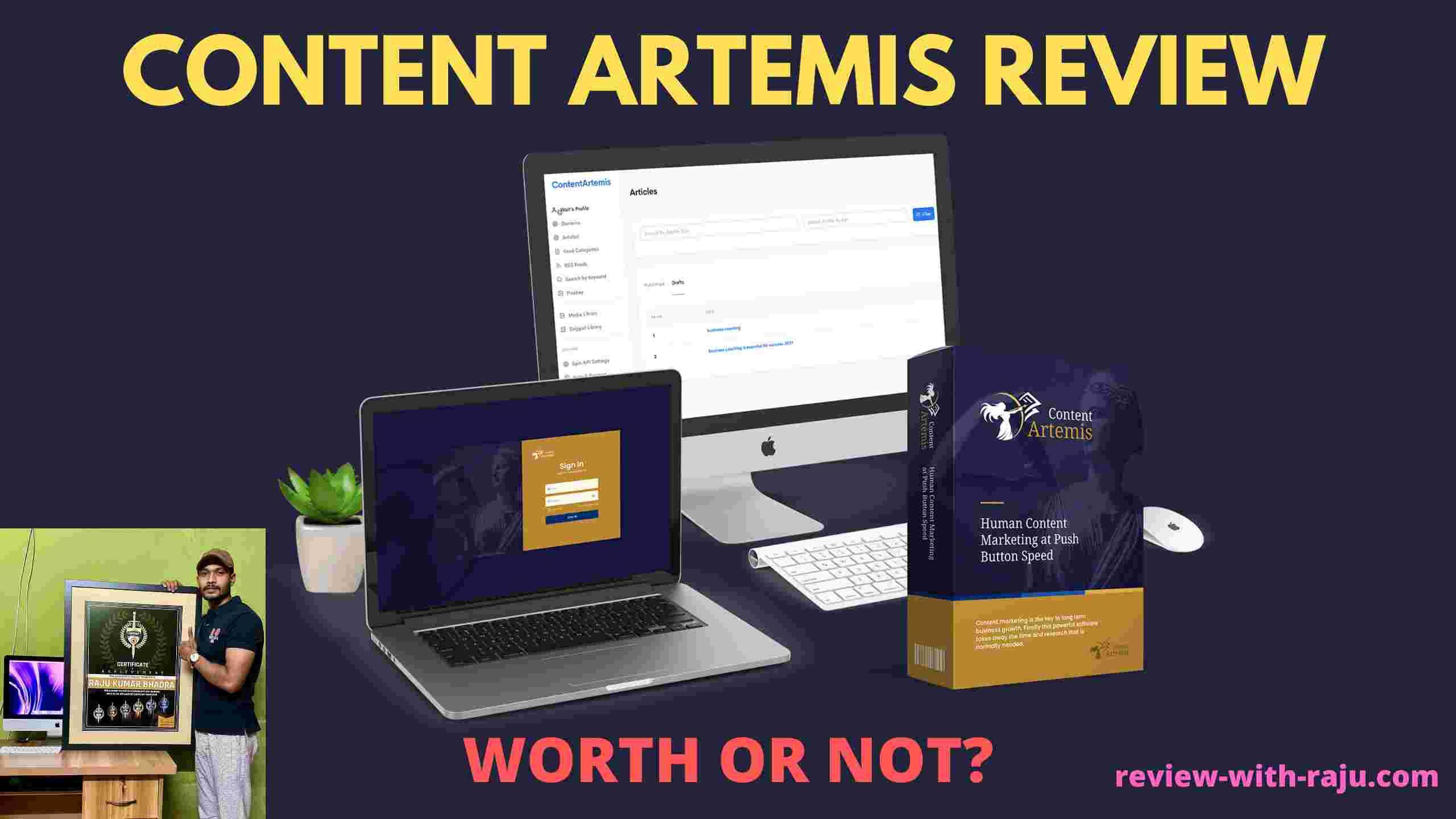 Content Artemis Review - Is IT Scam or Legit? - (Walt Bayliss)